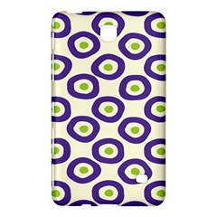 Circle Purple Green White Samsung Galaxy Tab 4 (8 ) Hardshell Case  by Alisyart