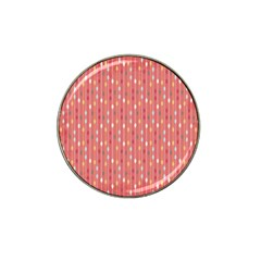 Circle Red Freepapers Paper Hat Clip Ball Marker (4 Pack)
