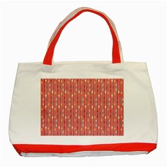Circle Red Freepapers Paper Classic Tote Bag (red) by Alisyart