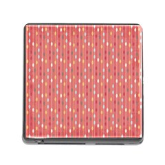 Circle Red Freepapers Paper Memory Card Reader (square) by Alisyart
