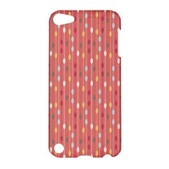 Circle Red Freepapers Paper Apple Ipod Touch 5 Hardshell Case