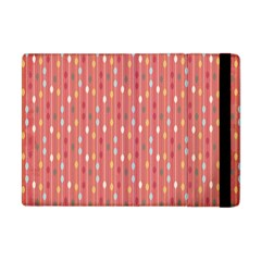 Circle Red Freepapers Paper Apple Ipad Mini Flip Case by Alisyart