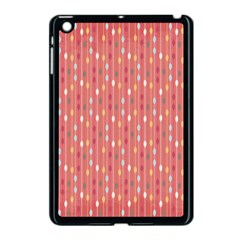 Circle Red Freepapers Paper Apple Ipad Mini Case (black) by Alisyart