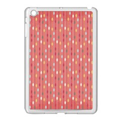 Circle Red Freepapers Paper Apple Ipad Mini Case (white) by Alisyart