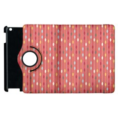 Circle Red Freepapers Paper Apple Ipad 2 Flip 360 Case
