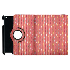 Circle Red Freepapers Paper Apple Ipad 3/4 Flip 360 Case by Alisyart