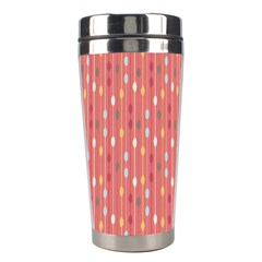 Circle Red Freepapers Paper Stainless Steel Travel Tumblers by Alisyart