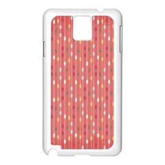 Circle Red Freepapers Paper Samsung Galaxy Note 3 N9005 Case (white) by Alisyart