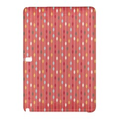 Circle Red Freepapers Paper Samsung Galaxy Tab Pro 10 1 Hardshell Case by Alisyart