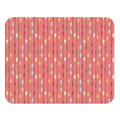 Circle Red Freepapers Paper Double Sided Flano Blanket (large)  by Alisyart