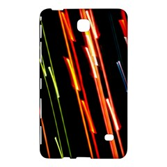 Colorful Diagonal Lights Lines Samsung Galaxy Tab 4 (8 ) Hardshell Case  by Alisyart