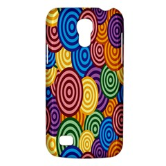 Circles Color Yellow Purple Blu Pink Orange Illusion Galaxy S4 Mini by Alisyart