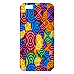 Circles Color Yellow Purple Blu Pink Orange Illusion Iphone 6 Plus/6s Plus Tpu Case by Alisyart