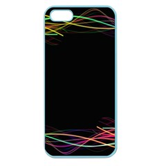 Colorful Light Frame Line Apple Seamless Iphone 5 Case (color) by Alisyart