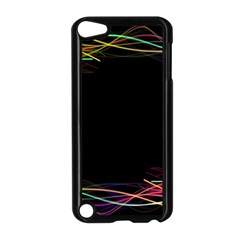 Colorful Light Frame Line Apple Ipod Touch 5 Case (black) by Alisyart