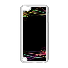 Colorful Light Frame Line Apple Ipod Touch 5 Case (white) by Alisyart