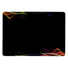 Colorful Light Frame Line Samsung Galaxy Tab 10 1  P7500 Flip Case