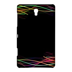 Colorful Light Frame Line Samsung Galaxy Tab S (8 4 ) Hardshell Case  by Alisyart