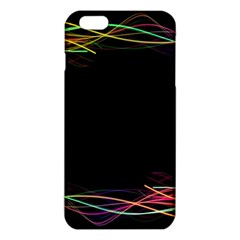 Colorful Light Frame Line Iphone 6 Plus/6s Plus Tpu Case by Alisyart