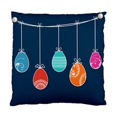 Easter Egg Balloon Pink Blue Red Orange Standard Cushion Case (one Side) by Alisyart