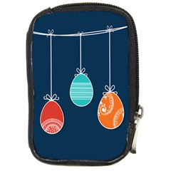 Easter Egg Balloon Pink Blue Red Orange Compact Camera Cases by Alisyart