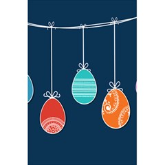 Easter Egg Balloon Pink Blue Red Orange 5 5  X 8 5  Notebooks