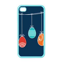 Easter Egg Balloon Pink Blue Red Orange Apple Iphone 4 Case (color)