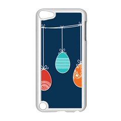 Easter Egg Balloon Pink Blue Red Orange Apple Ipod Touch 5 Case (white) by Alisyart