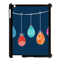 Easter Egg Balloon Pink Blue Red Orange Apple Ipad 3/4 Case (black) by Alisyart
