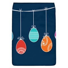 Easter Egg Balloon Pink Blue Red Orange Flap Covers (s)  by Alisyart