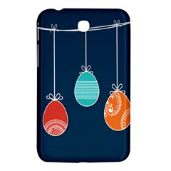 Easter Egg Balloon Pink Blue Red Orange Samsung Galaxy Tab 3 (7 ) P3200 Hardshell Case  by Alisyart