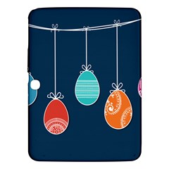 Easter Egg Balloon Pink Blue Red Orange Samsung Galaxy Tab 3 (10 1 ) P5200 Hardshell Case  by Alisyart