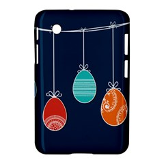 Easter Egg Balloon Pink Blue Red Orange Samsung Galaxy Tab 2 (7 ) P3100 Hardshell Case  by Alisyart