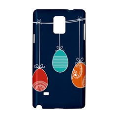 Easter Egg Balloon Pink Blue Red Orange Samsung Galaxy Note 4 Hardshell Case