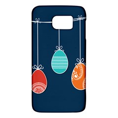 Easter Egg Balloon Pink Blue Red Orange Galaxy S6 by Alisyart