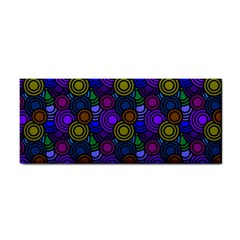 Circles Color Yellow Purple Blu Pink Orange Cosmetic Storage Cases by Alisyart