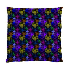 Circles Color Yellow Purple Blu Pink Orange Standard Cushion Case (one Side) by Alisyart