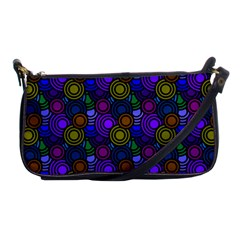 Circles Color Yellow Purple Blu Pink Orange Shoulder Clutch Bags