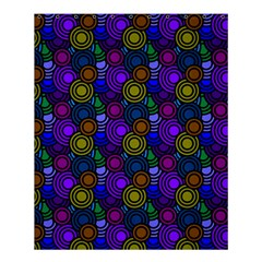 Circles Color Yellow Purple Blu Pink Orange Shower Curtain 60  X 72  (medium)  by Alisyart