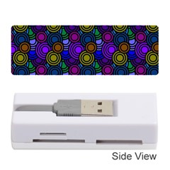 Circles Color Yellow Purple Blu Pink Orange Memory Card Reader (stick)  by Alisyart