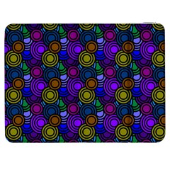 Circles Color Yellow Purple Blu Pink Orange Samsung Galaxy Tab 7  P1000 Flip Case