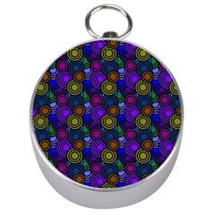 Circles Color Yellow Purple Blu Pink Orange Silver Compasses by Alisyart