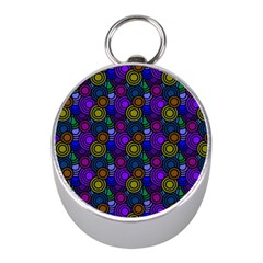 Circles Color Yellow Purple Blu Pink Orange Mini Silver Compasses by Alisyart