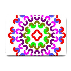 Decoration Red Blue Pink Purple Green Rainbow Small Doormat