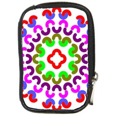 Decoration Red Blue Pink Purple Green Rainbow Compact Camera Cases by Alisyart