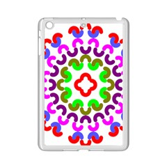 Decoration Red Blue Pink Purple Green Rainbow Ipad Mini 2 Enamel Coated Cases by Alisyart
