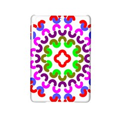 Decoration Red Blue Pink Purple Green Rainbow Ipad Mini 2 Hardshell Cases by Alisyart