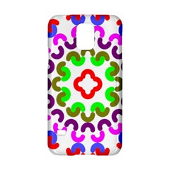 Decoration Red Blue Pink Purple Green Rainbow Samsung Galaxy S5 Hardshell Case  by Alisyart