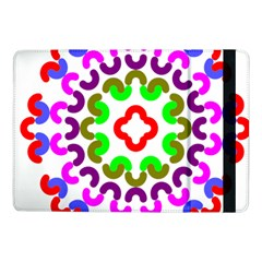 Decoration Red Blue Pink Purple Green Rainbow Samsung Galaxy Tab Pro 10 1  Flip Case