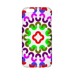 Decoration Red Blue Pink Purple Green Rainbow Apple Iphone 6/6s Hardshell Case by Alisyart